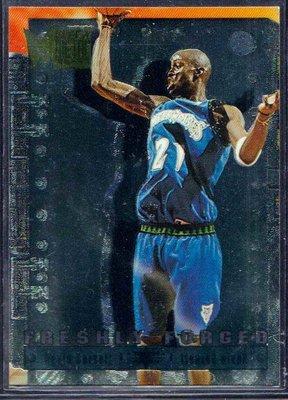 96-97 METAL FRESHLY FORGED #5 KEVIN GARNETT