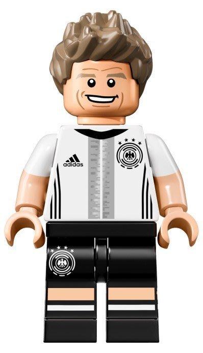 【LEGO 樂高】益智玩具 積木/ DFB 德國足球隊 人偶系列 71014 | 單一人偶: Thomas Müller