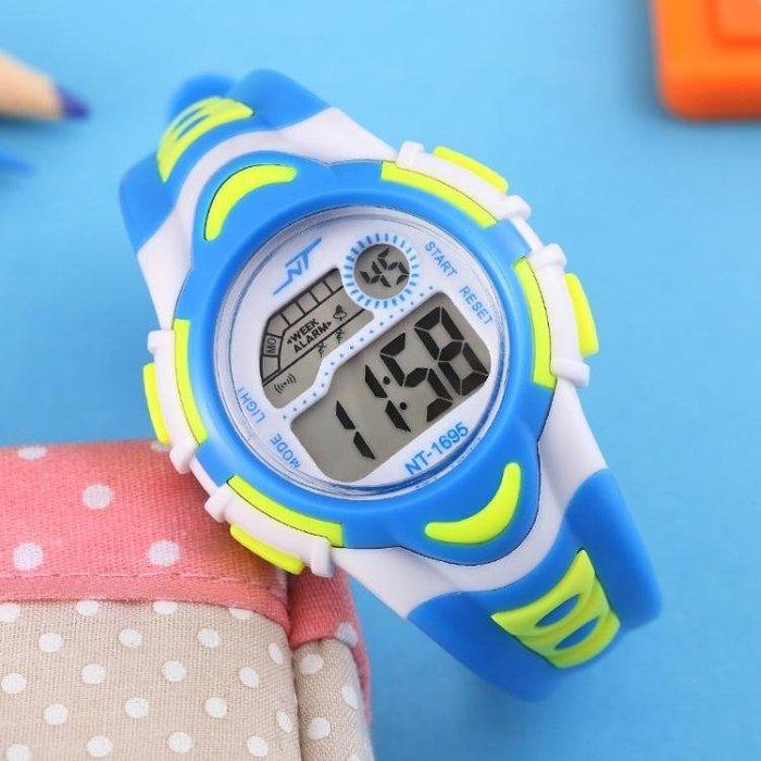 兒童手錶男孩女孩防水夜光中小學生手錶男童運動電子錶女童手錶女XSDJ945