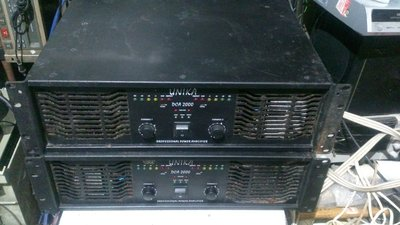 UNIKA DCA-2000大功率後級擴大機1000W*2