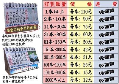 客製化三角月曆每本尺寸:8.5cm*9.5cm(含底座)最低價格每本只要15元(A款)-可開發票-通通免運費