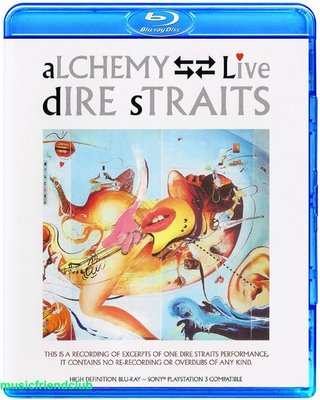 高清藍光碟 恐怖海峽 Dire Straits Alchemy Live (藍光BD50)
