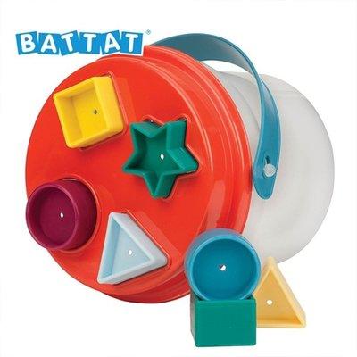 美國【B.Toys】公司貨 形狀撲滿 Battat系列 感統玩具 形狀發響盒可參考