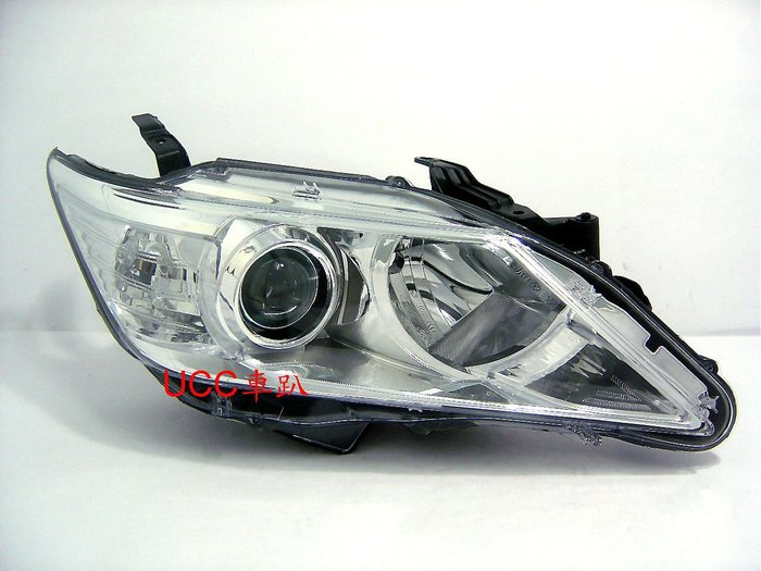 【UCC車趴】TOYOTA 豐田 CAMRY 12 13 14 原廠型 HID版 晶鑽大燈 (TYC製) 一組6000
