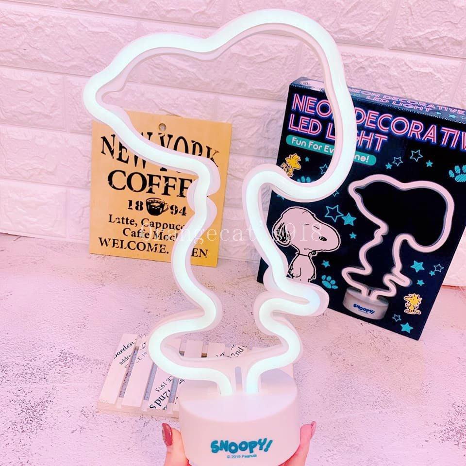 ☆橘子貓的918号店☆日本 PEANUTS SNOOPY 裸空 立體造型 LED燈 夜燈 露營 房間佈置