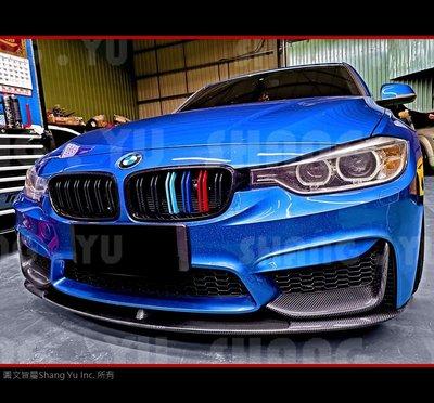 BMW F30 F31 M3 CARBON 前下巴 定風翼 2011 2012 2013 2014 2015