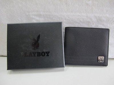 二手舖 NO.534 PLAYBOY K- Kit系列卡窗短夾(黑色)