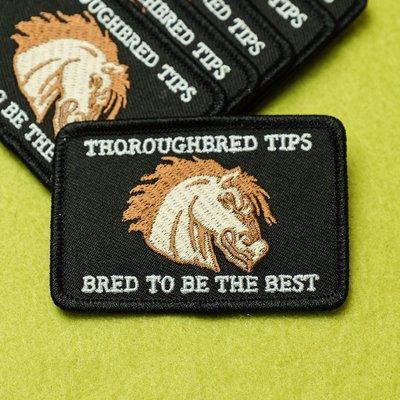 Thoroughbred Tips Patch / RH皮頭 臂章