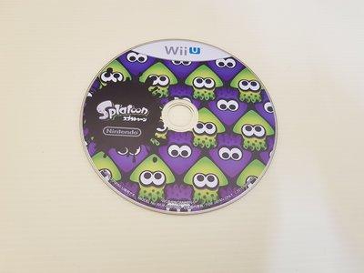 最便宜 功能正常 原廠 二手 無盒裝 遊戲裸片 Wii U 漆彈大作戰  SPLATOON  只要280