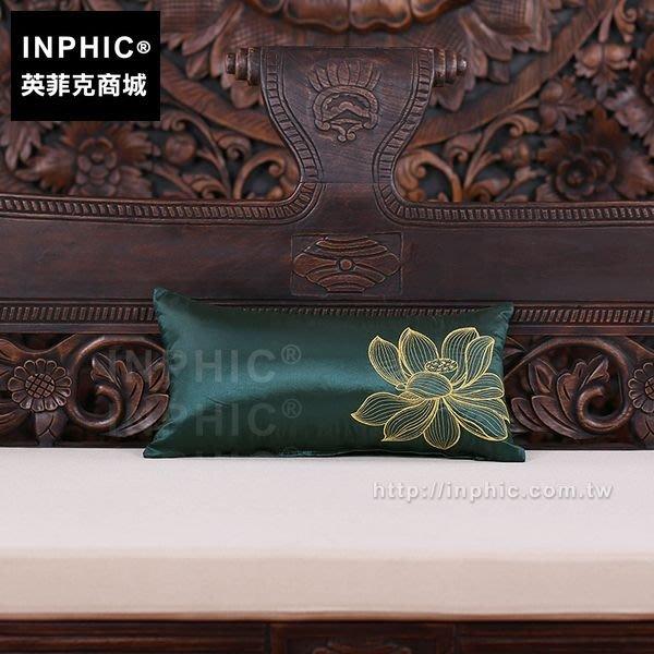 INPHIC-腰枕靠墊腰墊裝飾抱枕東南亞泰國植物花卉圖布藝_Xs7Q