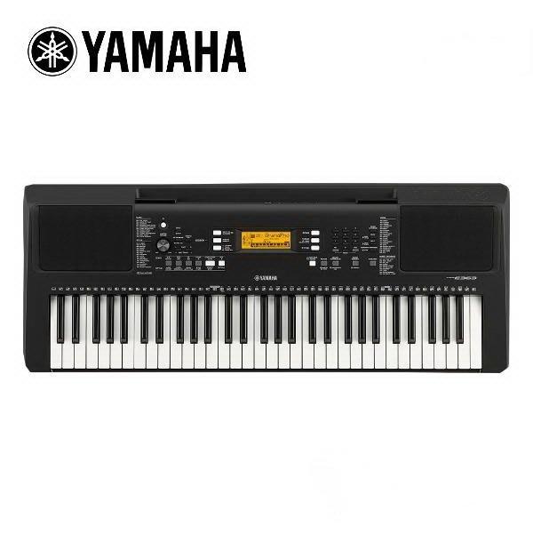 ☆唐尼樂器︵☆ YAMAHA PSR-E363 電子琴(附贈全套配件,特別加贈大延音踏板/鍵盤保養組等超值配件)