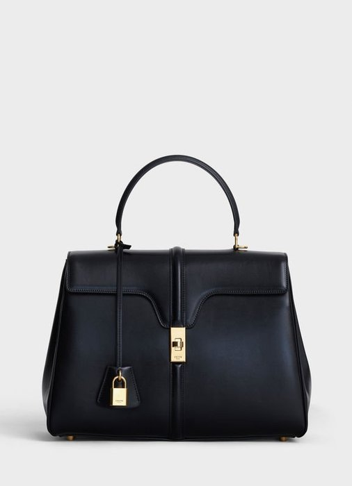 3/15前108000元*可刷卡可分期** 全新Celine 中型 16袋 16 黑色 手提包 代購