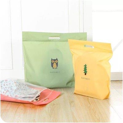 熱銷 馬卡龍收納袋 包包袋 夾鏈袋 防塵套 收納袋 多色卡通 手提袋 購物袋 防塵袋【CH-04A-40001】