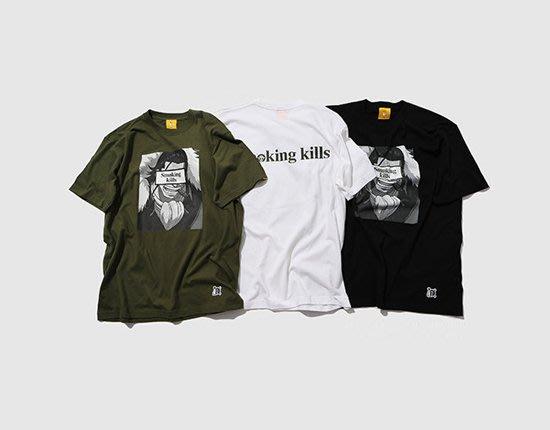 日本FR2 x ONE PIECE smoking kills 海賊王聯名限定CROCODILE 短袖T恤