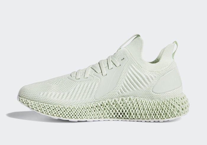 "沃皮斯§Adidas Alphaedge 4D""Aero Green"" 男鞋 EE5199"