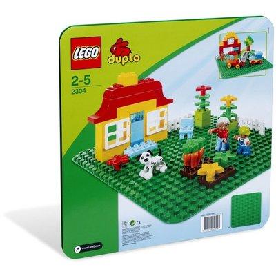 【晨芯樂高】2304 Duplo系列Large Green Baseplate