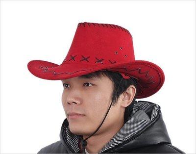 [牛仔帽]*shw飾品* 萬聖節.聖誕節.派對表演.道具用品金蔥帽,亮片帽~ 紅