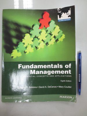 D8-5cd☆2013『Fundamentals of Management 8/e』Robbins《PEARSON》