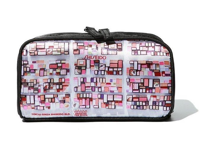 ☆Eric Zakka☆日本資生堂 SHISEIDO 專櫃贈品 美妝瓶造型化妝包 收納包 小物包【現貨】JL1034