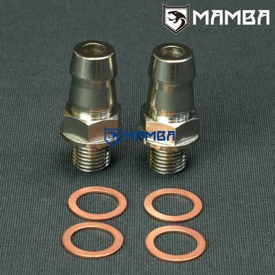"Turbo Water Coolant Adapter Fitting Kit 5/8""Barb KKK K03 K04"