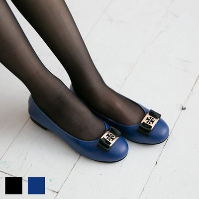 芭蕾舞鞋 織帶金屬片日本級小牛皮柔軟娃娃鞋  台灣手工鞋 丹妮鞋屋