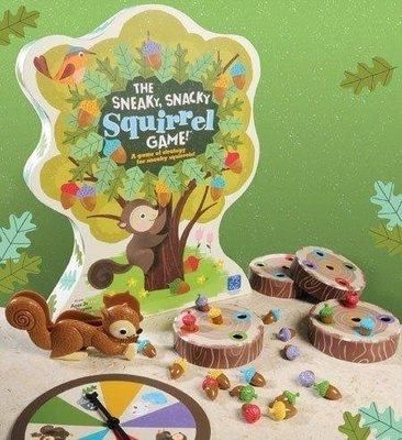 大安殿實體店面 小松鼠的堅果 小松鼠算橡子The Sneaky Snacky Squirrel Game 正版桌上遊戲