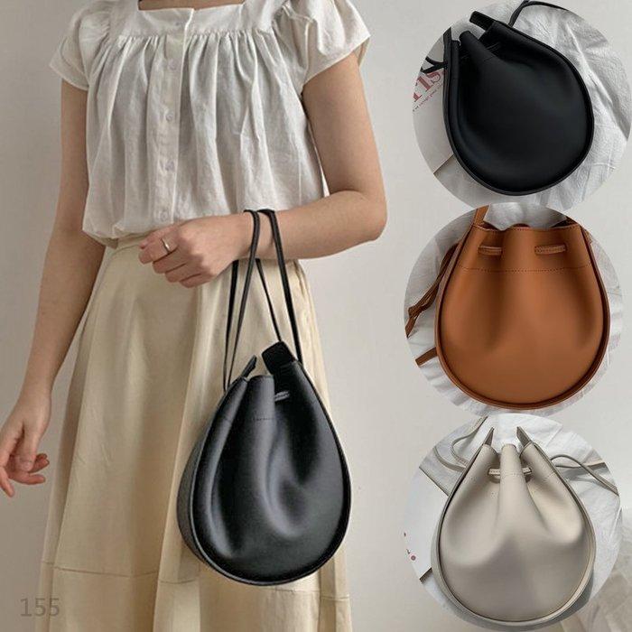 【免運】 韓版2用 皮革 水桶包 側背包 斜背包 手拿包 手提包 肩背包 小包 單肩包 托特包 小側背包 包包 女生包包