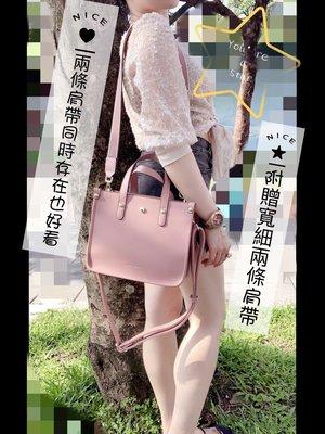 SHINY TON金釦復古小公事包 外銷新加坡  高品質、高CP 側背包 2way 黛妃包『可刷卡』
