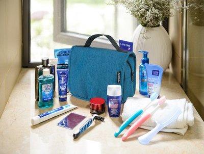 旅行洗漱包男外出旅遊用品 女出差便攜防水化妝包大容量收納袋 戶外野營徒步折疊手提包掛包