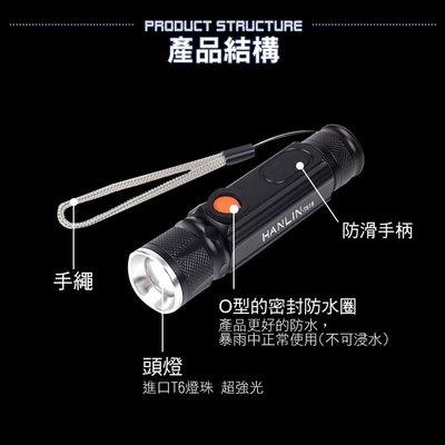 【 全館折扣 】 磁吸T6強光手電筒工作燈 磁吸式 T6 強光手電筒 COB 工作燈 HANLIN522T516