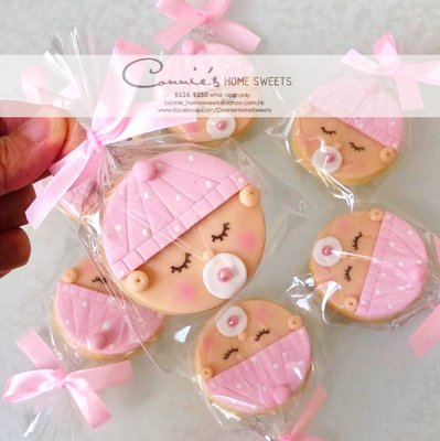 【Connie's Home Sweets】百日宴回禮曲奇/百日宴回禮禮物/生日回禮曲奇/生日回禮禮物/100 days cookie