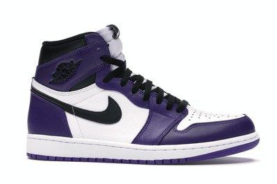 【紐約范特西】預購 Jordan 1 Retro High Court Purple White 555088-500