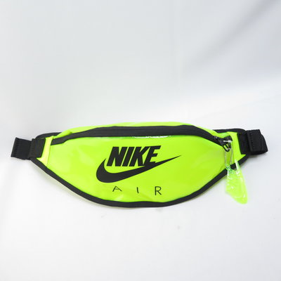 NIKE HERITAGE HIP PACK - CLEAR單肩包 腰包 CW9259702 螢光【iSport愛運動】