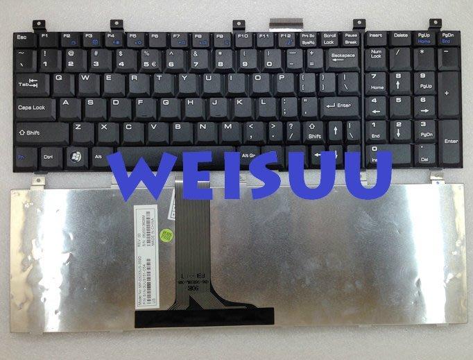 {偉斯科技}MSI-1600 1656 CR6000 VX600 CX500 適用鍵盤