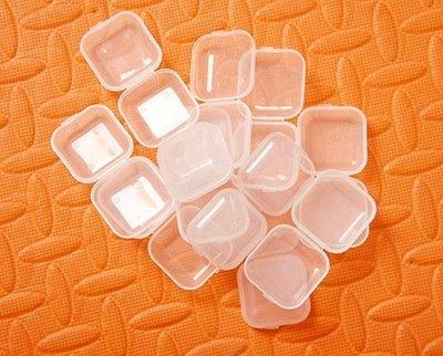 隔音耳塞收納盒 半透明方盒 小盒子 塑料盒 ~~12入~~