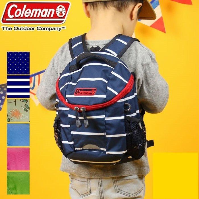《FOS》日本 Coleman 兒童 輕量化 大容量 書包 幼稚園 安全 背包 1~3歲 孩童 小孩 開學 上學 禮物