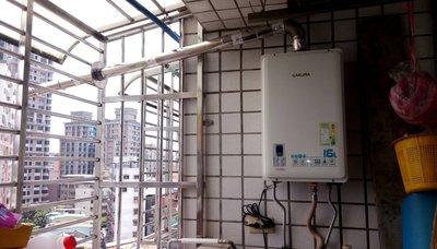 【熱水器專科】3.櫻花牌DH1633A/DH1635A數位恆溫強制排氣型瓦斯熱水器1633/1635八德區自助價