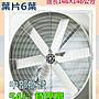 「工廠直營」負壓扇 54吋 六葉直結式風機 抽送風通風 排風機 廠房散熱風扇 工廠通風 畜牧風扇 抽送