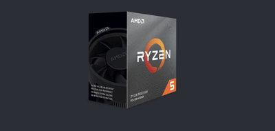 AMD Ryzen 5 3600X  六核十二緒 中央處理器