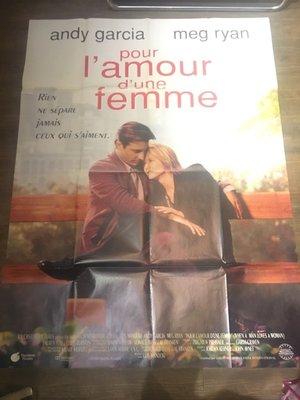 當男人愛上女人-Whan a Man Loves a Woman (Pour l'amour d'une femme)(摺式)原版法大版海報