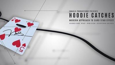 【天天魔法】【S1034】正宗原廠~線穿刺牌(抓住胡迪尼)~Hoodie Catches by SMagic