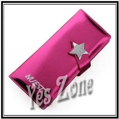 Yes Zone 偶像精品 炫彩銀包 nuest nuest JR Aron 白虎 旼泫 Ren 桃紅色 清貨$45包郵