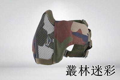 [01] CM1 武士 半罩式 叢林迷彩 ( 護目鏡眼罩防護罩面罩面具口罩護嘴護具防彈頭套鳥嘴射擊角色扮演生存遊戲萬聖節