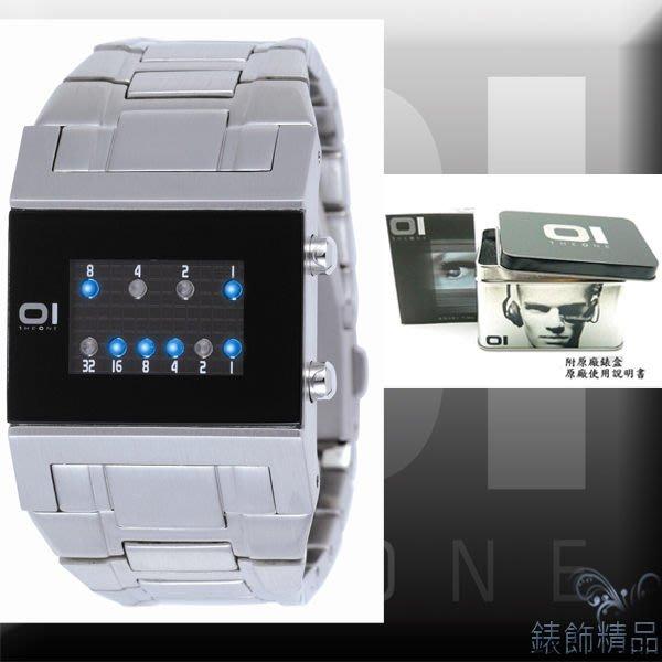 【錶飾精品】THE ONE/LED創新時計酷炫錶-運算系統/黑面鋼帶KTL102B2女錶全新正品公司貨