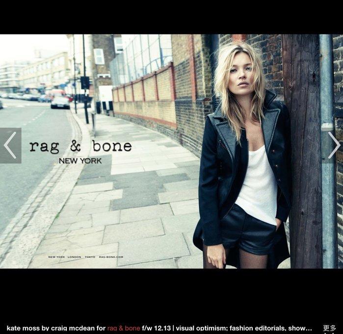 全新 Rag & Bone 黑色 性感露腰連身短褲