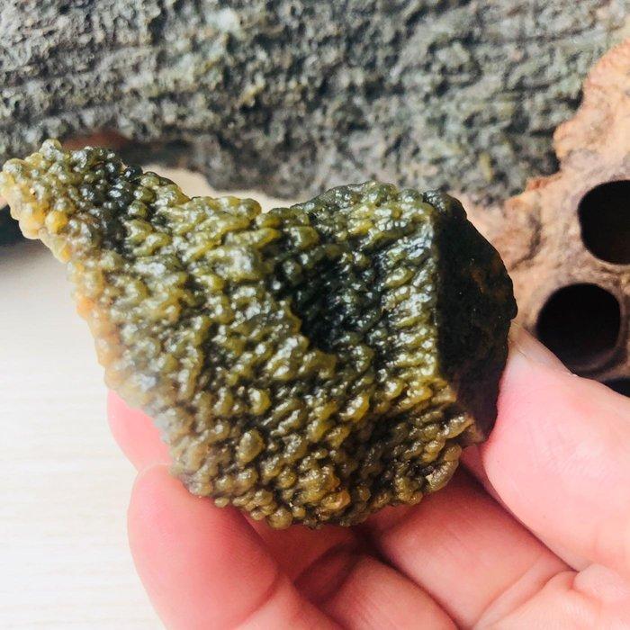 [馬克與安]小山丘-新彊黑山瑪瑙原石(未打孔)