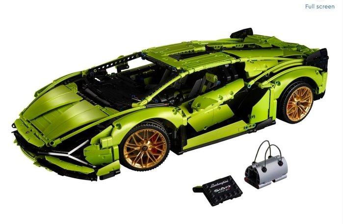 ~☆.•°莎莎~*~~☆~樂高 LEGO Lamborghini Sián FKP 37 藍寶堅尼組~