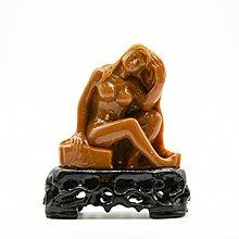 【聽竹軒】 壽山石 雕刻 裸女