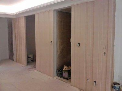 【瑞晟油漆】櫥櫃.門片.門框.矽酸鈣板.木板 水泥牆面批土 壁癌及破洞裂縫處理