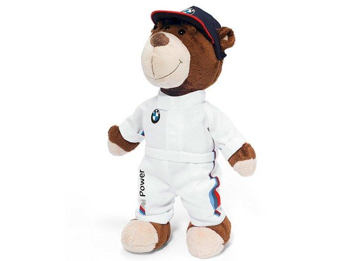 【樂駒】BMW 原廠 生活 精品 禮品 小熊 泰迪熊 廠徽 Motorsport Teddybar 擺飾 周邊 飾品